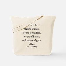 Plato 17 Tote Bag