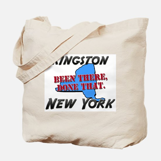 kingston new york - been there, done that Tote Bag