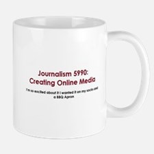 Cute Journalism Mug