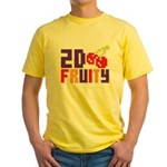 2D Fruity Yellow T-Shirt