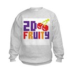 2D Fruity Kids Sweatshirt