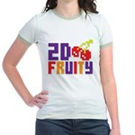 2D Fruity Jr. Ringer T-Shirt