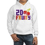 2D Fruity Hooded Sweatshirt