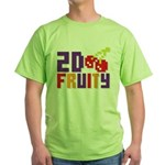 2D Fruity Green T-Shirt