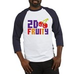2D Fruity Baseball Jersey