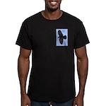 Raven Spirit Men's Fitted T-Shirt (dark)