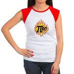 Pi Ro Women's Cap Sleeve T-Shirt