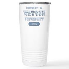 Property of Watson University Travel Mug