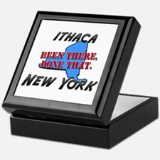 ithaca new york - been there, done that Keepsake B