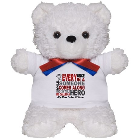 HERO Comes Along 1 Mom BRAIN CANCER Teddy Bear