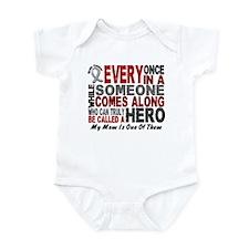 HERO Comes Along 1 Mom BRAIN CANCER Infant Bodysui