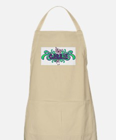 Carrie's Butterfly Name BBQ Apron