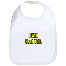 """I Will Beat OCD"" Bib"