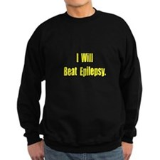 """I Will Beat Epilepsy"" Jumper Sweater"