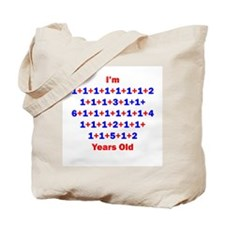 Plus Birthdays 50 Tote Bag