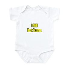 """""""I Will Beat Eczema"""" Infant Bodysuit"""