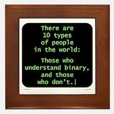 Understand Binary Framed Tile