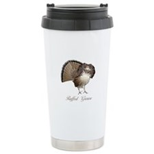 Strutting Grouse Travel Mug
