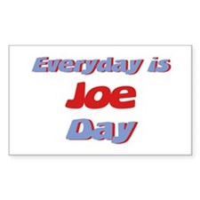 Everyday is Joe Day Rectangle Decal