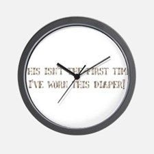 This isn't the first time I'v Wall Clock