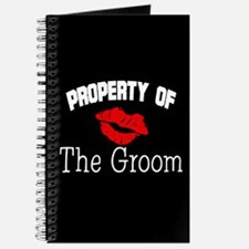 Property of the Groom (Red Lips) Journal