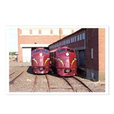 PRR E8a's 5711 & 5809 Postcards (Package of 8)
