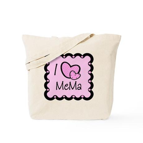 I Love Mema Tote Bag