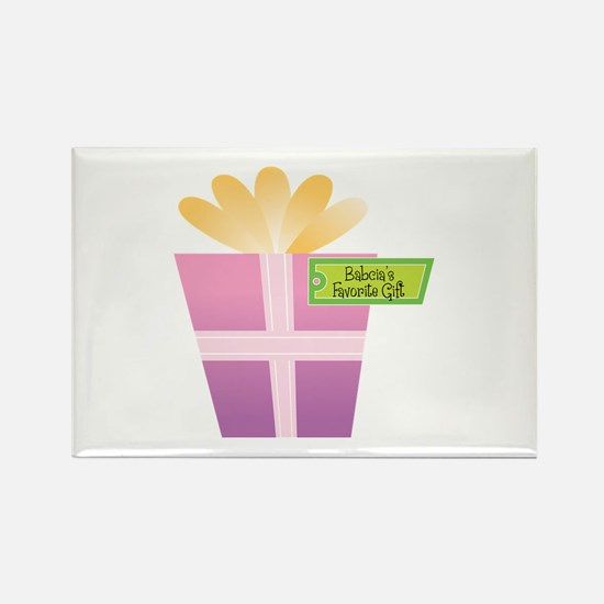 Babcia's Favorite Gift Rectangle Magnet