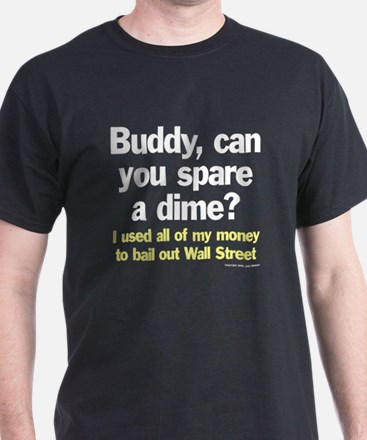 Bail out Wall Street T-Shirt