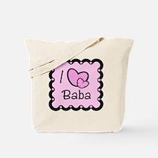 I Love Baba Tote Bag