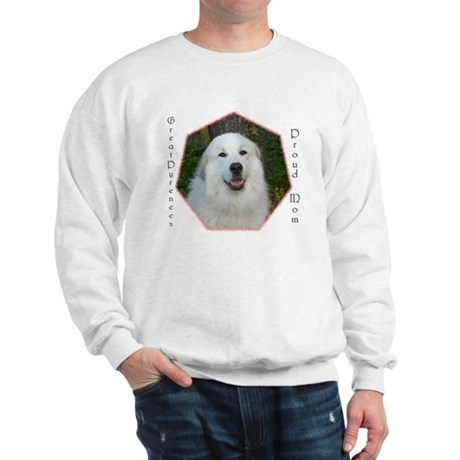 Great Pyrenees Sweatshirt, Proud Mom.....