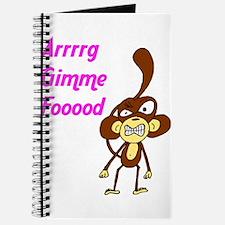 """""""Arrrrg Gimme Fooood"""" Journal"""