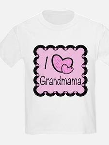 I Love Grandmama T-Shirt