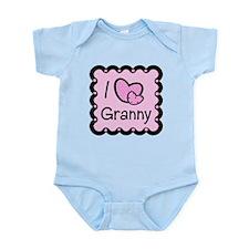 I Love Granny Infant Bodysuit