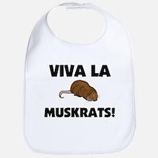 Viva La Muskrats Bib