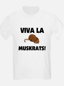 Viva La Muskrats T-Shirt