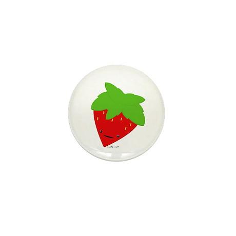 Mini Strawberry Button