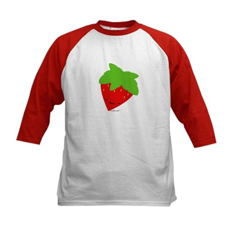 Strawberry Kids Baseball Jersey