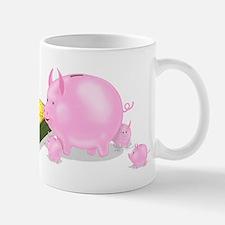Piggy Bank Family Dinner Mug