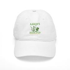 Aaron's Vintage Irish Pub Personalized Baseball Cap