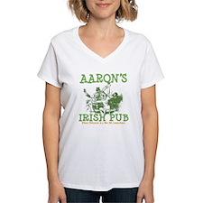 Aaron's Vintage Irish Pub Personalized Shirt