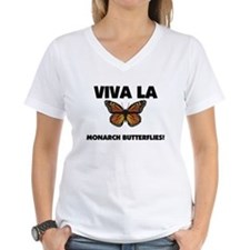 Viva La Monarch Butterflies Shirt
