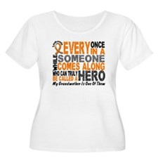 HERO Comes Along 1 Grandmother LEUK T-Shirt