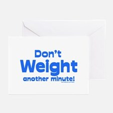 Don't Weight Greeting Cards (Pk of 20)