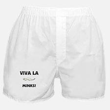 Viva La Minks Boxer Shorts