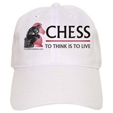 Chess Think - Baseball Cap
