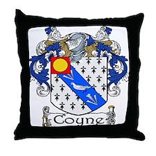 Coyne Coat of Arms Throw Pillow