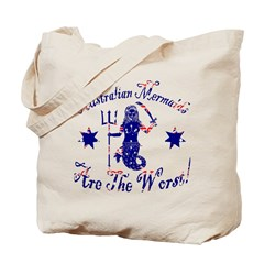 Australian Mermaids are the W Tote Bag