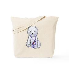 Westie Walkie Tote Bag