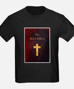 Red Cover Holy Bible T-Shirt